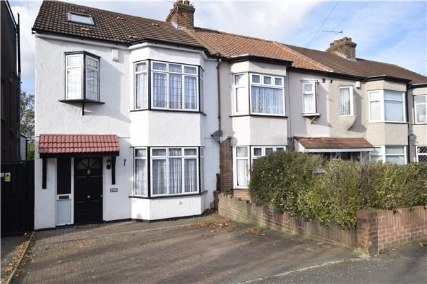 Thumbnail End terrace house to rent in Dorset Avenue, Romford