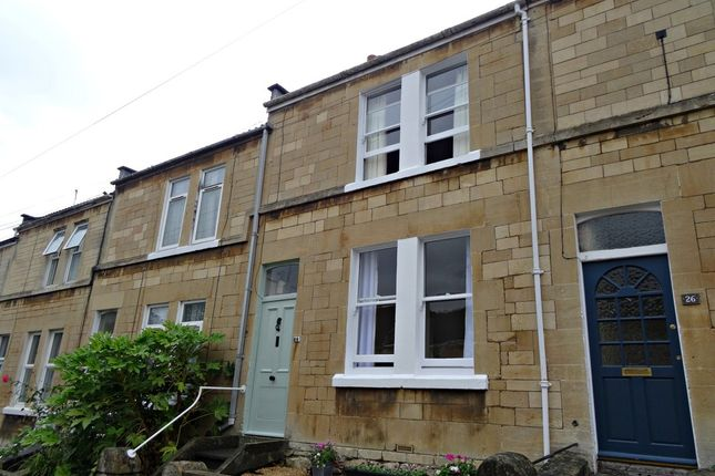 Thumbnail Terraced house for sale in Dartmouth Avenue, Oldfield Park, Bath