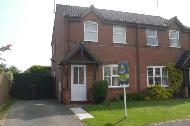 Thumbnail Semi-detached house to rent in Elder Close, Uttoxeter