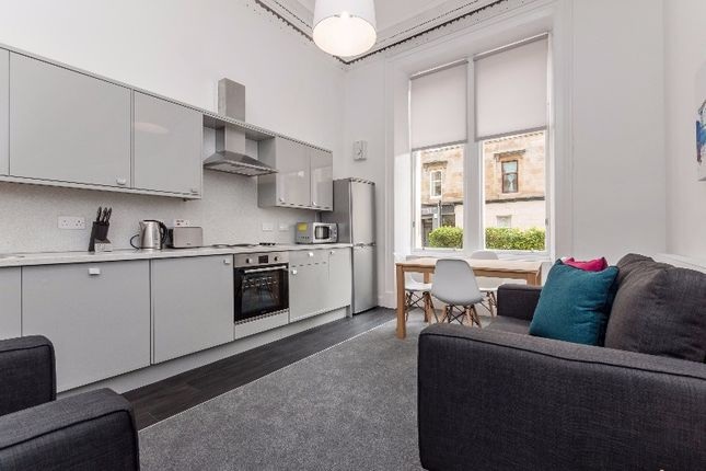 Thumbnail Flat to rent in Bank Street, West End, Glasgow