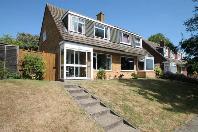 Thumbnail Semi-detached house for sale in Downs Road, Istead Rise, Gravesend