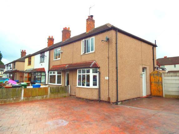 Thumbnail End terrace house for sale in Burton Road, Warrington, Cheshire