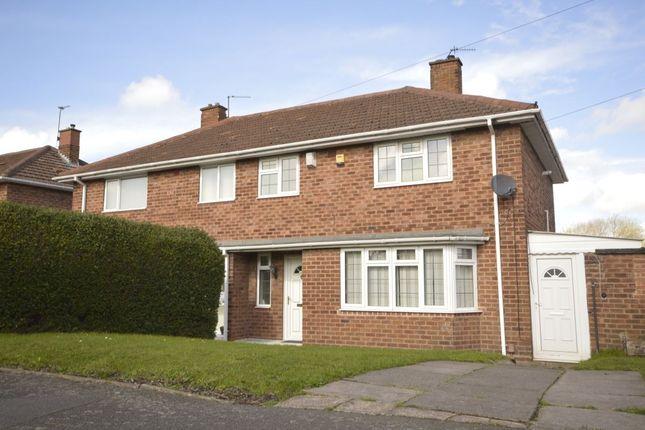 Thumbnail Semi-detached house for sale in Burcot Avenue, Wolverhampton