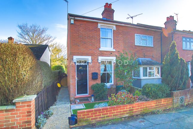 Thumbnail Semi-detached house for sale in King Coel Road, Colchester