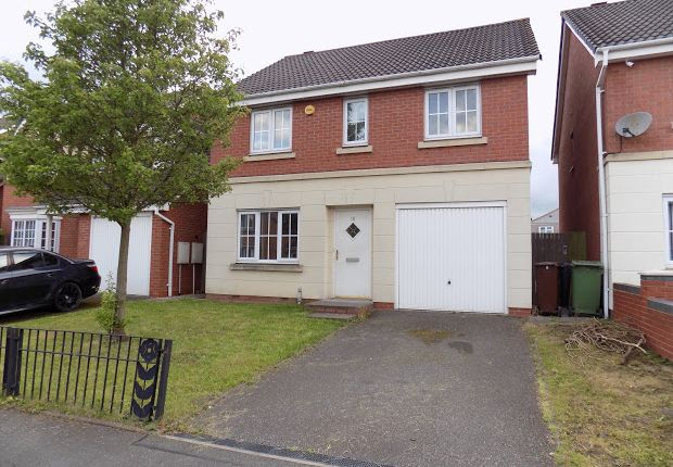 Thumbnail Detached house for sale in Wrenbury Drive, Bilston