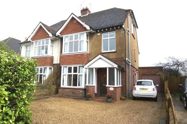 Thumbnail Semi-detached house to rent in Quakers Hall Lane, Sevenoaks