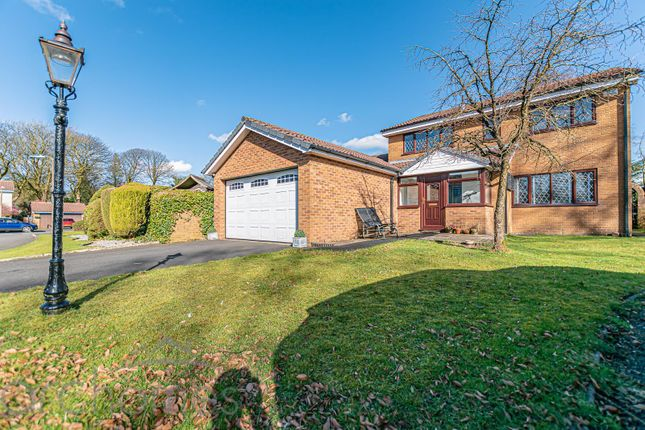 Thumbnail Detached house for sale in The Beeches, Belmont Road, Bolton