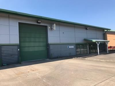 Thumbnail Warehouse to let in C2, Third Avenue, Centrum 100, Burton Upon Trent, Staffordshire