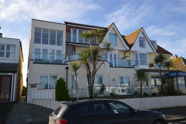 Thumbnail Flat for sale in Golden Bay Apartments, Pentire Avenue, Newquay, Cornwall