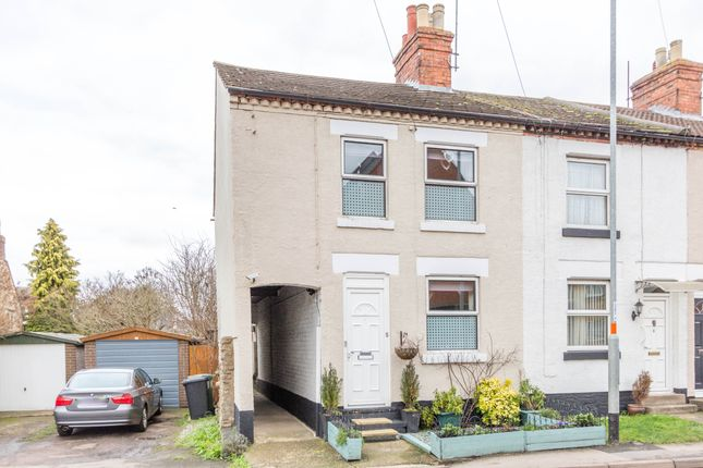 Thumbnail End terrace house for sale in Station Road, Irchester, Wellingborough