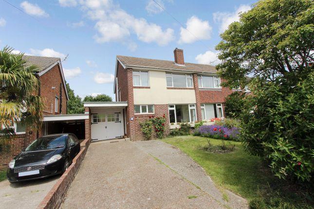 Thumbnail Semi-detached house for sale in Glencarron Way, Bassett, Southampton
