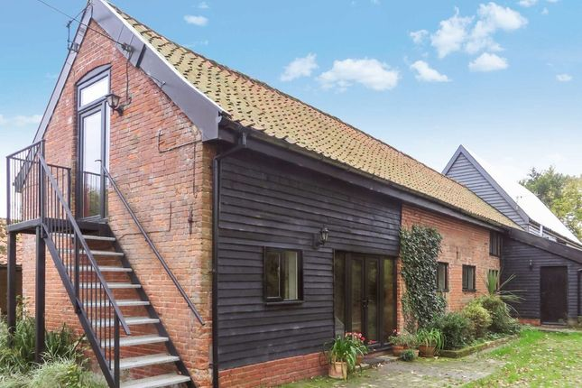 Thumbnail Barn conversion to rent in Harleston Road, Linstead, Halesworth