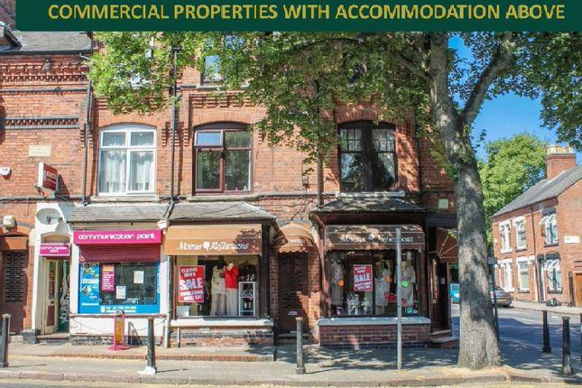 Thumbnail End terrace house for sale in Evington Road, Evington, Leicester