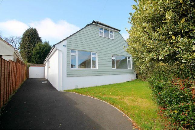 Thumbnail Detached bungalow for sale in Marlborough Road, Lower Parkstone, Poole