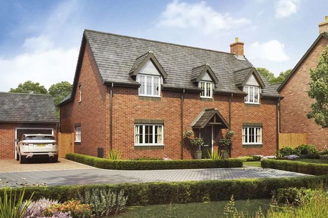 Thumbnail Detached house for sale in Plot 19, The Sycamore, Barley Fields, Uttoxeter
