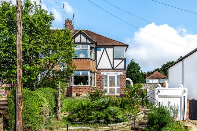 Thumbnail Semi-detached house for sale in Wood Lodge Lane, West Wickham, Kent