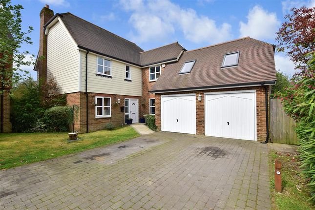 Thumbnail Detached house for sale in Woodlees Close, Sellindge, Ashford, Kent