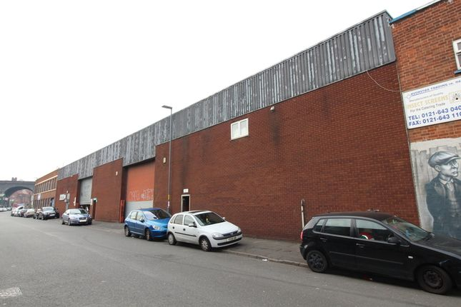 Thumbnail Industrial for sale in Barn Street, Birmingham