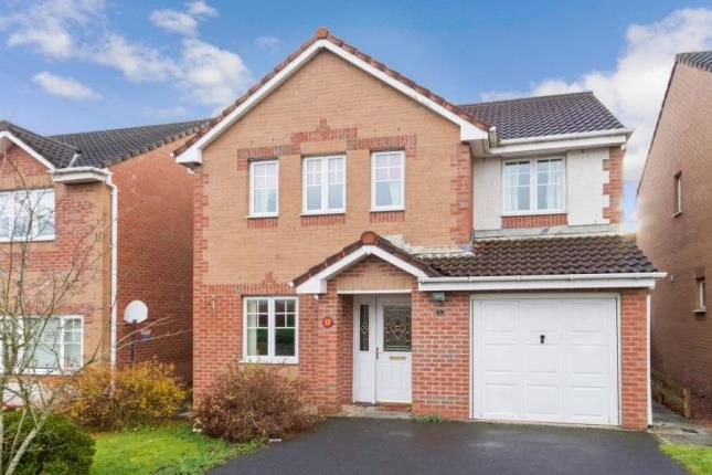 Thumbnail Detached house for sale in Roslin Place, Chapelhall, Airdrie, North Lanarkshire