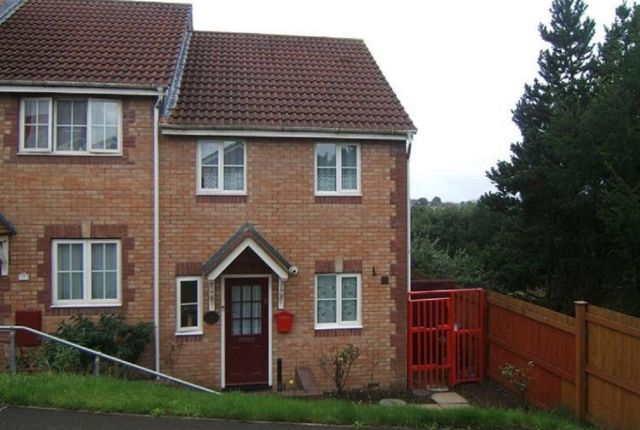 Thumbnail End terrace house to rent in Cwrt Hocys, Llansamlet, Swansea