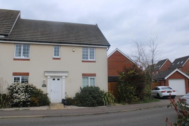 Thumbnail Link-detached house for sale in Stowmarket, Suffolk