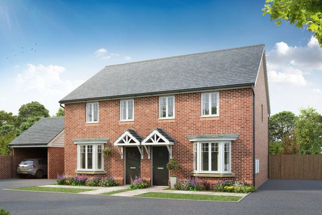 """Thumbnail Semi-detached house for sale in """"Langham"""" at Barnhorn Road, Bexhill-On-Sea"""