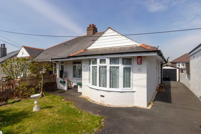 Thumbnail Semi-detached bungalow for sale in Old Woodlands Road, Crownhill