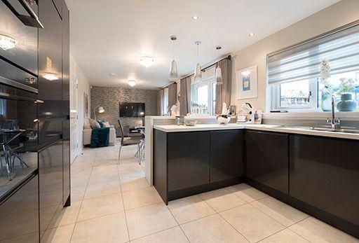 "Thumbnail Detached house for sale in ""Melton"" at East Calder, Livingston"