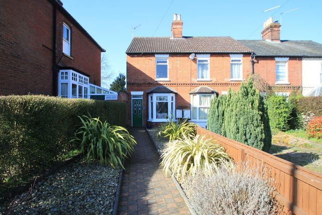 Thumbnail End terrace house for sale in West Road, Bury St. Edmunds