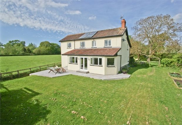 Thumbnail Detached house for sale in Parbrook, Glastonbury, Somerset