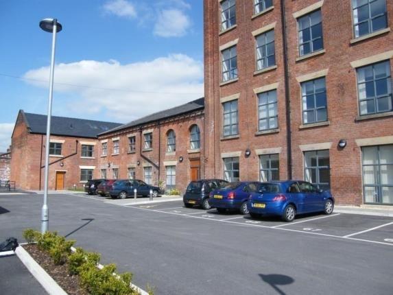 External of Atlas Mill, Bentinck Street, Bolton, Greater Manchester BL1