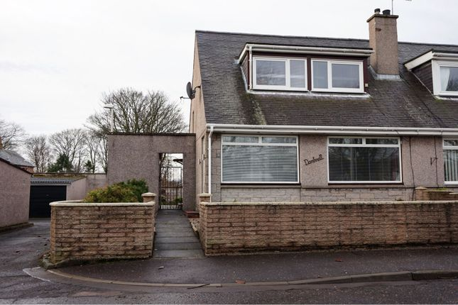 Thumbnail Semi-detached house for sale in Roseville Place, Arbroath