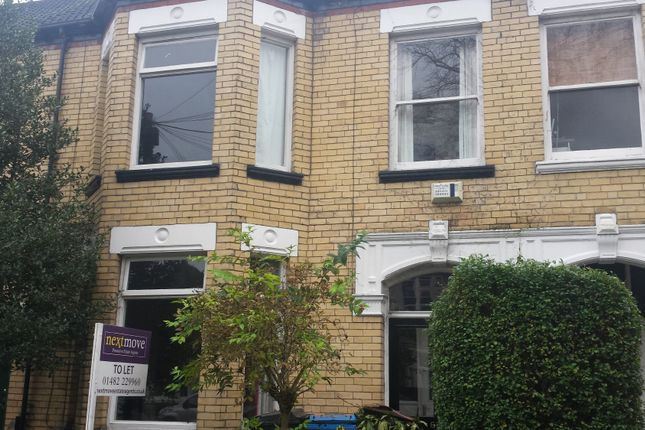 Thumbnail Terraced house to rent in Marlborough Avenue, Princes Avenue, Hull