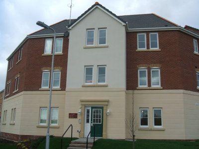 Thumbnail Flat to rent in Erw Hir, Bridgend