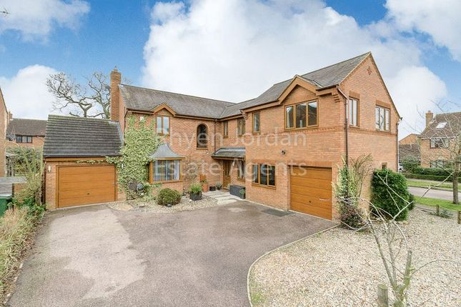 Thumbnail Detached house for sale in Wishart Green, Old Farm Park, Milton Keynes