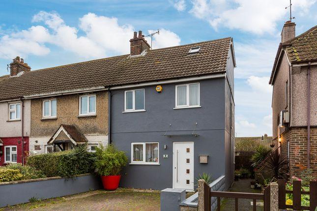 Thumbnail End terrace house for sale in Gardner Road, Portslade, Brighton