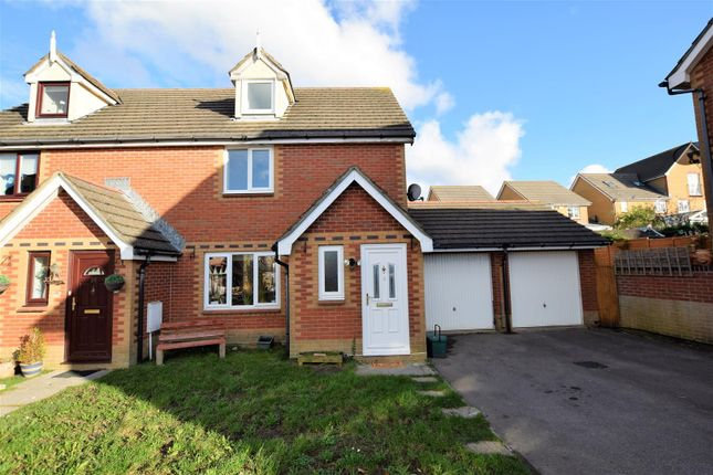Thumbnail Semi-detached house for sale in Gwennol Y Mor, Barry