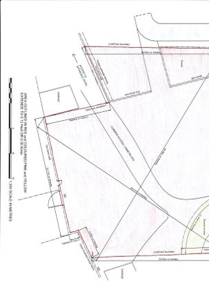 Title Plan of Buccleuch Road, Sanquhar DG4