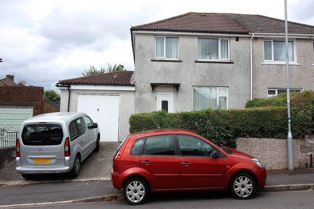 Thumbnail Semi-detached house for sale in Graig Park Road, Malpas, Newport