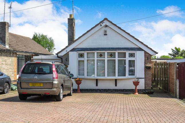 Thumbnail Detached bungalow for sale in Leighton Crescent, Elmesthorpe, Leicester