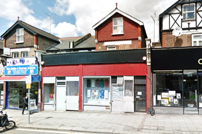 Thumbnail Retail premises to let in Walm Lane, London