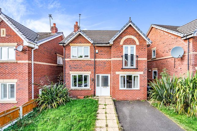 Thumbnail Detached house for sale in Stonemead Drive, Manchester, Greater Manchester