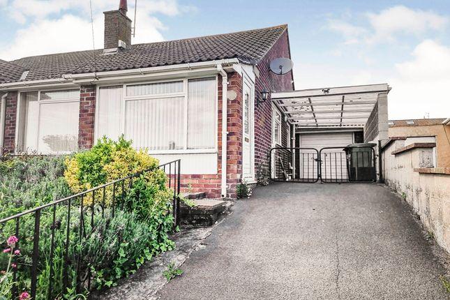 Thumbnail Semi-detached bungalow for sale in Larksleaze Road, Longwell Green, Bristol