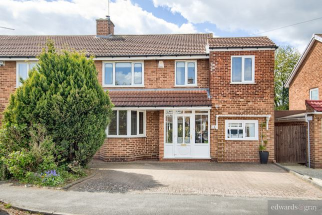 Thumbnail Semi-detached house for sale in Vesey Close, Water Orton