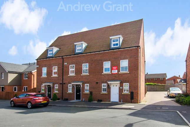 3 bed end terrace house to rent in Lawley Way, Droitwich, Worcestershire WR9