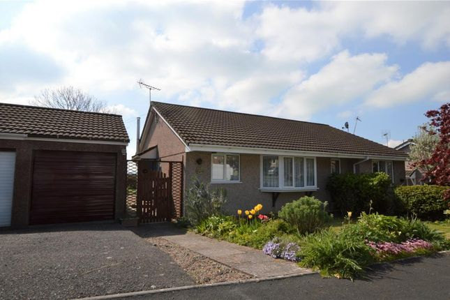 Thumbnail Semi-detached bungalow for sale in Orchard Way, Lapford, Crediton, Devon