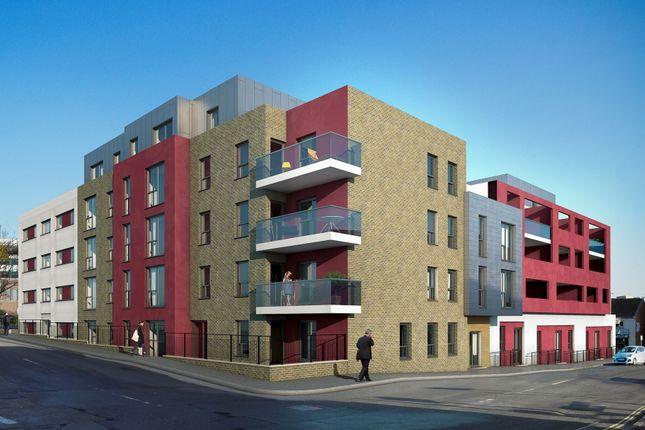 Thumbnail Flat for sale in Frederick Street, Aldershot