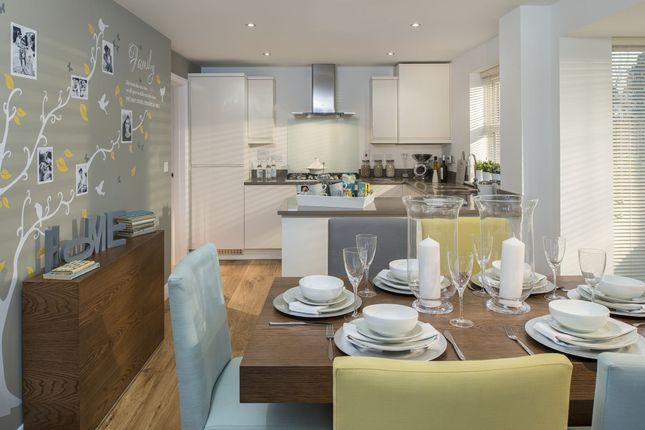 """Thumbnail Detached house for sale in """"Hertford"""" at Locksbridge Road, Picket Piece, Andover"""