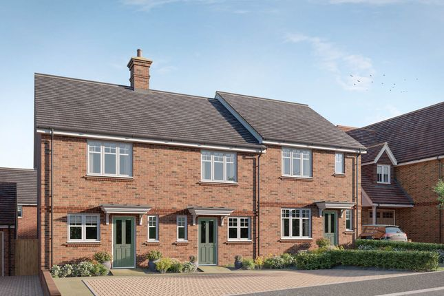 Thumbnail End terrace house for sale in Worthing Road, Southwater, Horsham