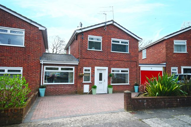 Thumbnail Link-detached house for sale in Melrose Close, Old St. Mellons, Cardiff